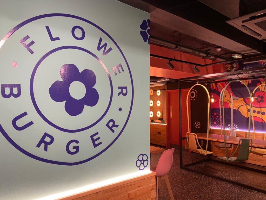 Flower Burger店内の様子