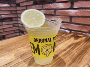 オリジナルレモネード フレッシュレモン追加